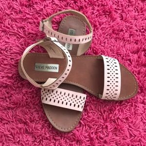 Steve Madden sandals dusty pink fashionable